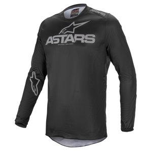 Alpinestars Fluid Graphite Jersey Schwarz Grau alpinestars