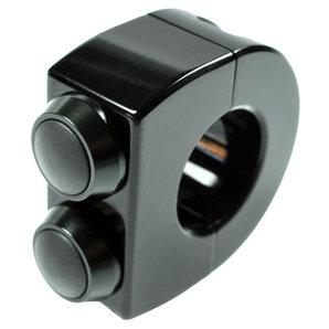 Armatur mo-switch 2 Taster für Zoll und 22 mm Lenker motogadget