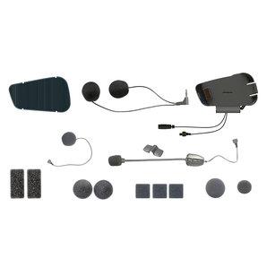 Audiokit f�r Cardo PACKTALK u- SMARTPACK mit Kabel- und Schwanenhalsmikrofon