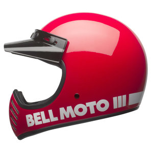 Bell Moto-3 classic red Rot BELL