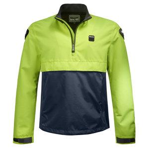 Blauer Spring Pull Man Motorrad-Textiljacke Neon Blau H-T-