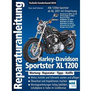 Bucheli H-D Sportster XL 1200 Reparaturanleitungen