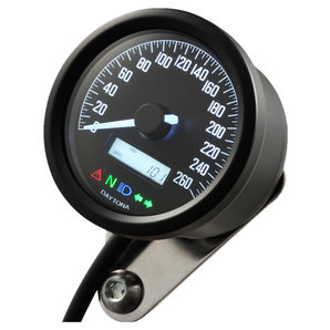 Daytona Velona60 Tachometer 260 km-h schwarz Corporation
