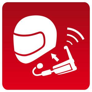 Einbauservice pro Helm Kommunikationssystem Louis