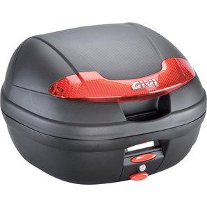 Givi Top-Case E340 Vision Monolock 34L - inkl- Adaplerplatte