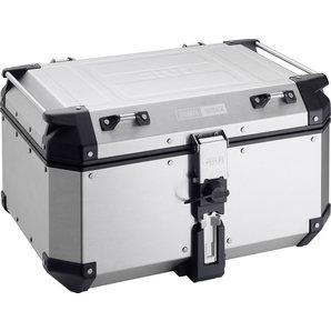 Givi Trekker Aluminium Top-Case Silber- 58 Liter- Monokey