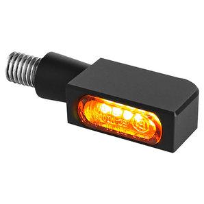 HeinzBikes BLOKK Line Micro LED LED-Blinker- Schwarz- Stück