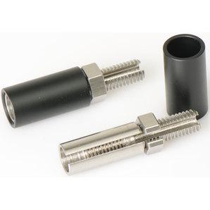 HIGHSIDER Blinker-Verlängerung 27 mm- schwarz- Paar Highsider