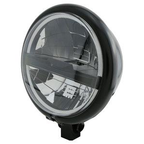Highsider LED Hauptscheinwerfer Bates Style Typ5- Schwarz