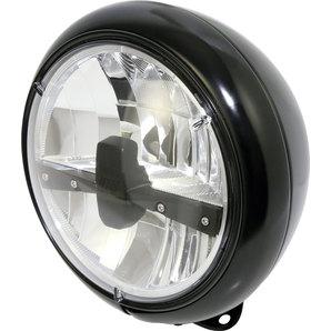 Highsider LED-Scheinwerfer HD-Style- schwarz- 7 Zoll
