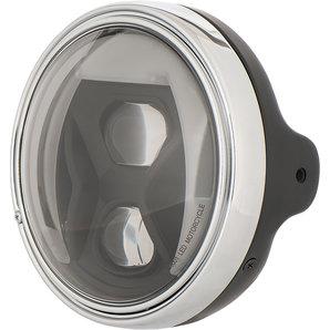 HIGHSIDER LED Scheinwerfer mit Kurvenlicht LTD Schwarz Highsider