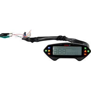 Koso DB01-RN Tachometer mit Drehzahlmesser und ABE