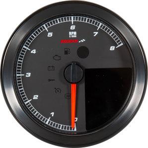 Koso HD-01-04 Drehzahlmesser-Tachometer für Harley Sportster und Dyna