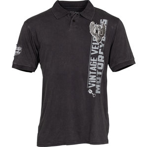 Lethal Threat Gas-Guts and Glory Poloshirt Schwarz