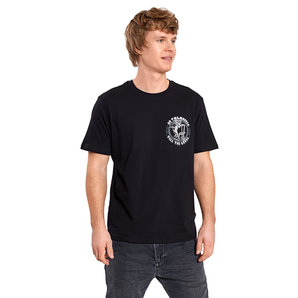 Lethal Threat Two Wheels T-Shirt Schwarz