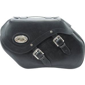 Longride Satteltaschen Echtleder mit Klickfix- 34 Liter