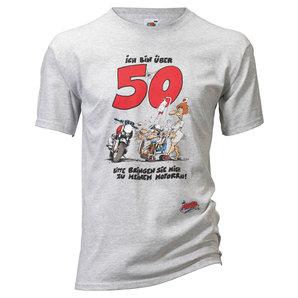 Motomania �ber 50 T-Shirt Grau