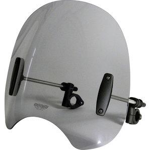 MRA Roadshield Windschutzscheibe inkl- Haltesatz- klar oder rauchgrau