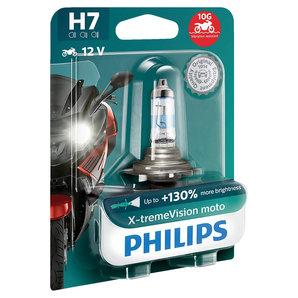 Philips X-tremeVision moto H7 +130- 55W
