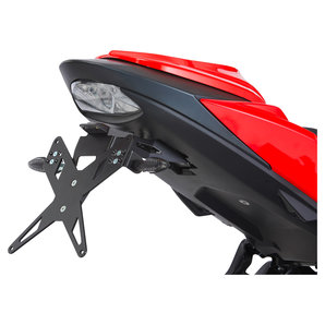 PROTECH Kennzeichenhalter X-SHAPE f�r diverse Modelle- schwarz