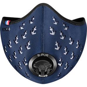 R-PUR Anti-Feinstaub Maske Ancre Blau
