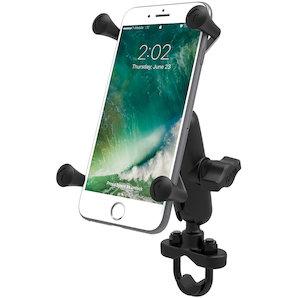 RAM Mounts Lenkerhalterung mit X-Grip u- Verbindungsarm für grosse Smartphones