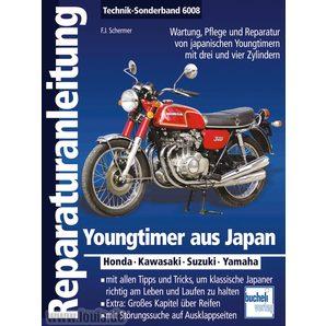 Reparaturanleitung Youngtimer aus Japan Sonderband 176 S- Bucheli
