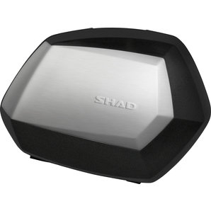SHAD Seitenkoffer SH35 Paar- Schwarz mit Alu-Cover Shad