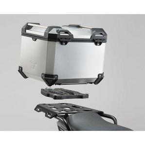 SW-Motech TRAX ADV Topcase-System 38 l- für diverse Modelle- silber