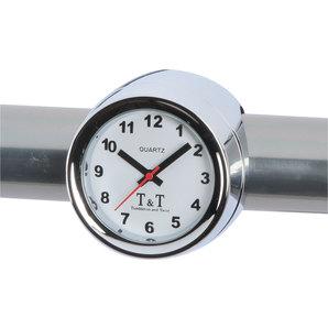 TundT Analog-Uhr mit Lenkerhalterung Tumbleton and Twist