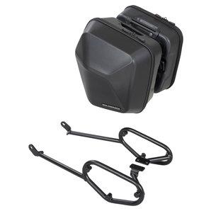 URBAN ABS Seitenkoffer-System 2 x 16-5 L- für diverse Modelle- schwarz SW-Motech