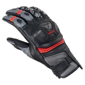 Vanucci Short Racing IV Handschuhe Schwarz Grau Rot