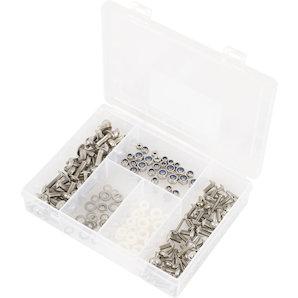Verkleidungsschrauben-Set 180-teilig- Edelstahl Louis