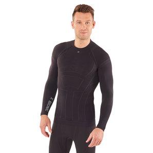 X-Bionic Moto Energizer LT Summer Shirt Funktionsshirt Schwarz Grau