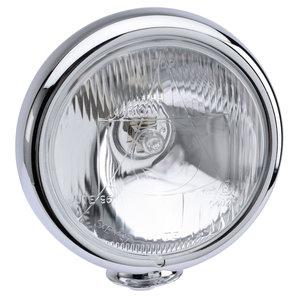 Zusatzscheinwerfer 4 1-2 verchromt Nebelscheinwerfer oder Fernlicht Louis